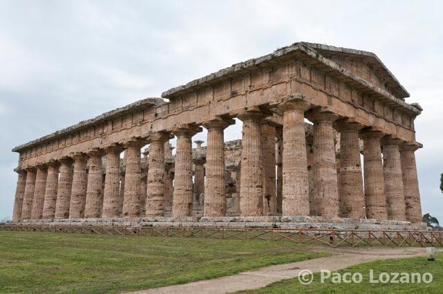 Paestum templo de Poseidón