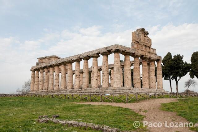 Templo de Ceres o de Atenea en Paestum