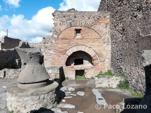 Pompeya: panadería