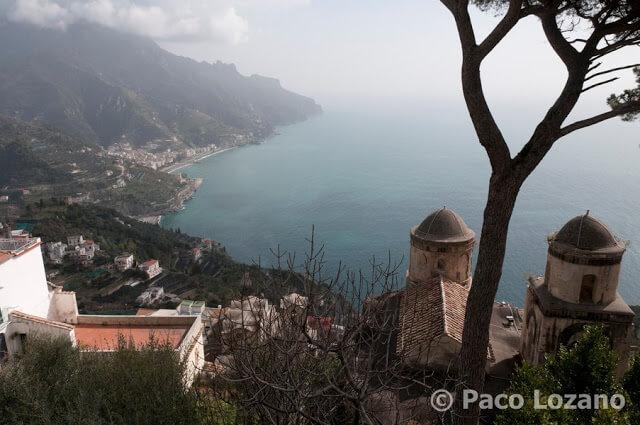 La Costa Amalfitana desde Ravello
