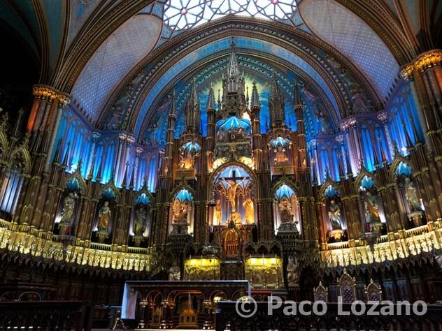 Montreal: Basílica de Notre-Dame