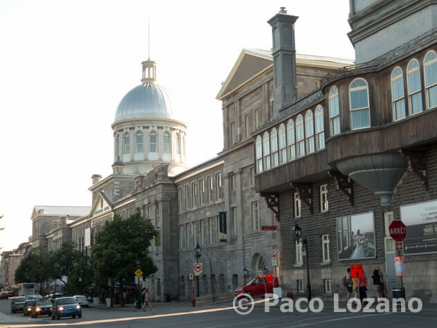 Montreal: mercado Bonsecours