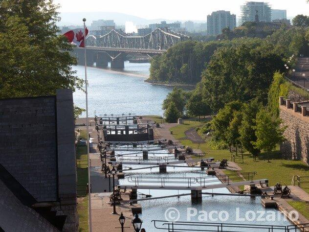 Ottawa: el canal Rideau