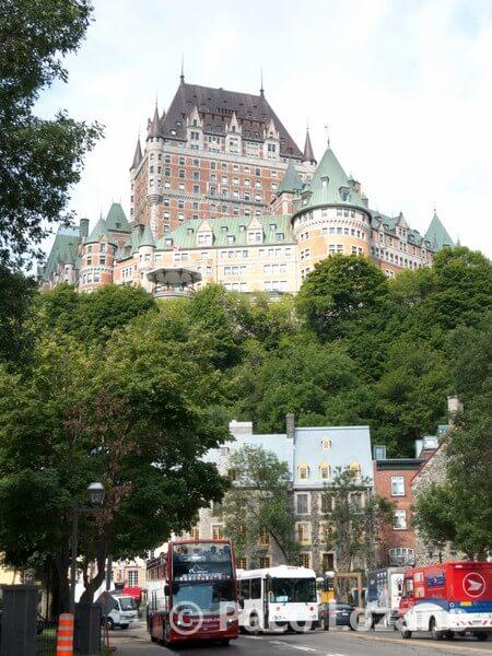 Quebec: desde la ciudad baja