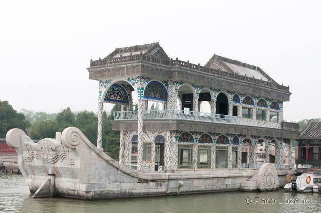 Barco de mármol Beijing Pekín