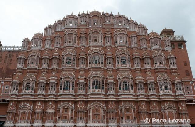 Hawa Mahal, Jaipur: Palacio de los Vientos