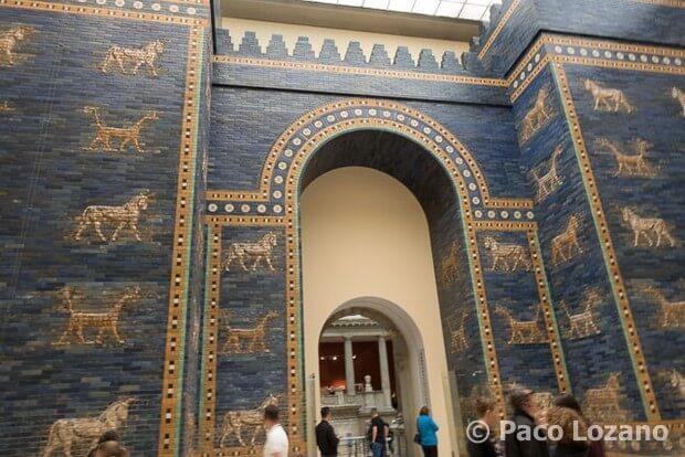 Puerta de Ishtar, Isla de los Museos