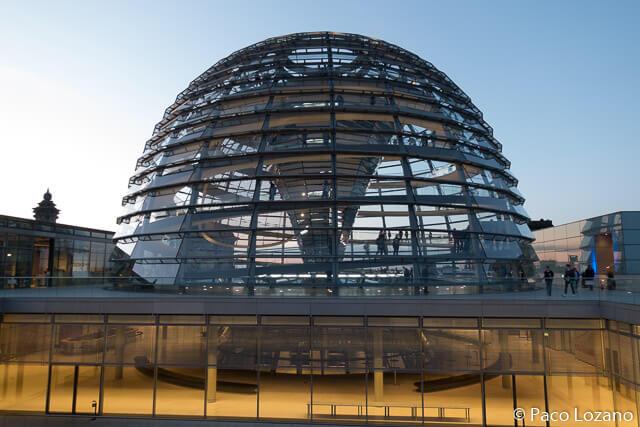 La cúpula del Reichstag en Berlín