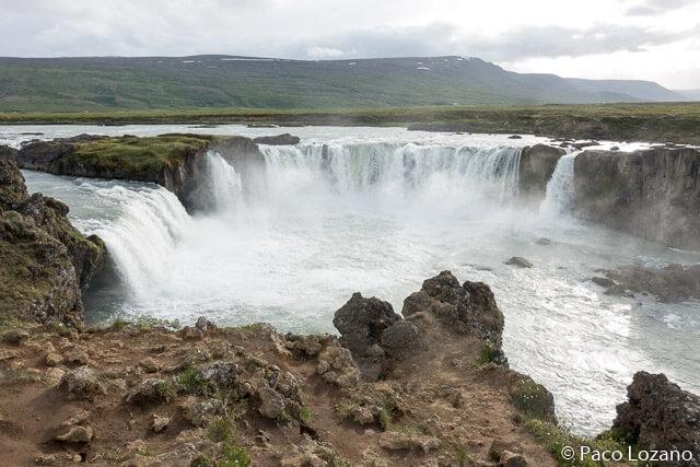 Cascadas de Islandia: Godafoss