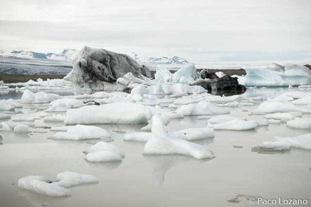 Fjallsárlón glacial lake in Iceland