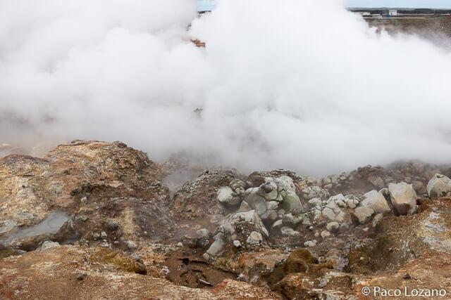 Islandia, geiseres, volcanes y solfataras: Gunnuhver