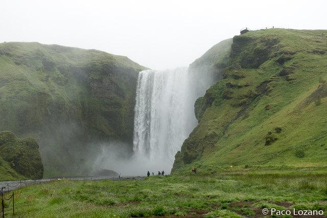 Cascadas de Islandia: Skógafoss