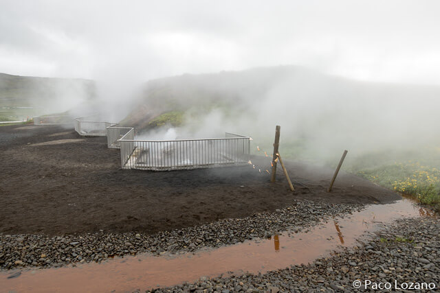 Aguas termales en Islandia