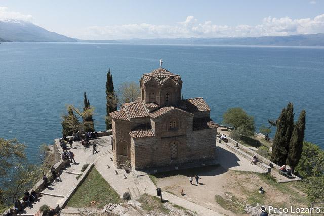 El lago Ohrid y San Juan Kaneo