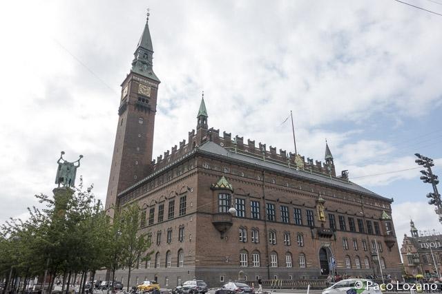 Circuito fotográfico por Copenhague: el Ayuntamiento