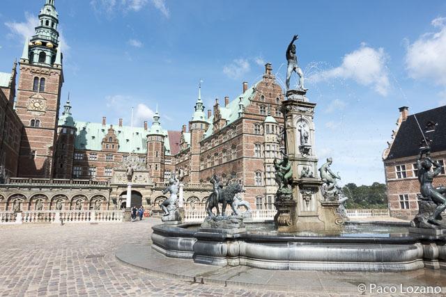 El palacio de Frederiksborg (Dinamarca)