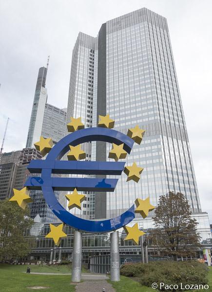 Imagen de la Eurotower en Frankfurt