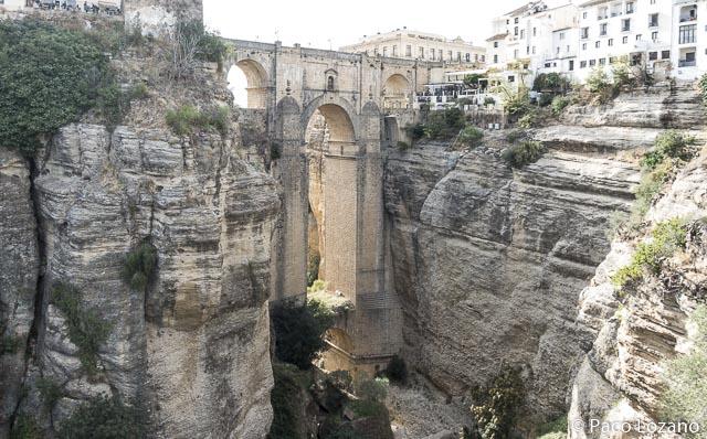 Fotografía del Puente Nuevo de Ronda