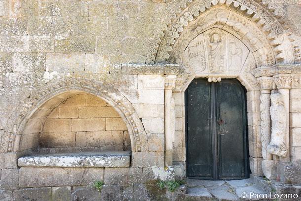 Iglesia del castelo de Monterrei