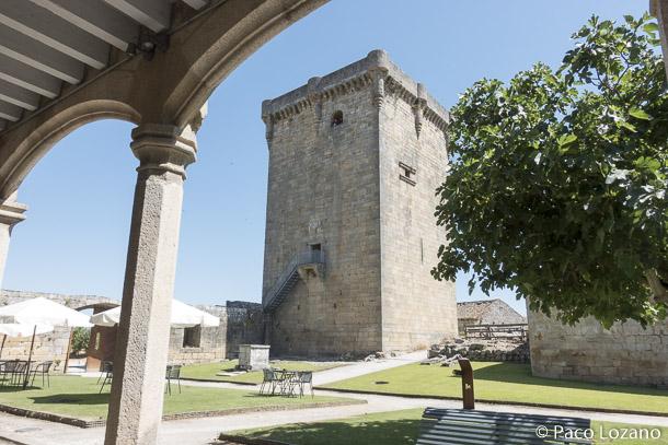 La Torre del Homenaje del castelo de Monterrei