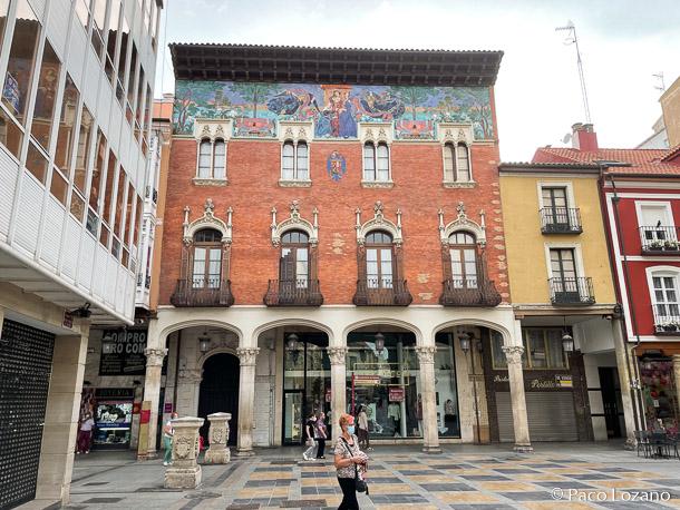 Palencia, la Calle Mayor